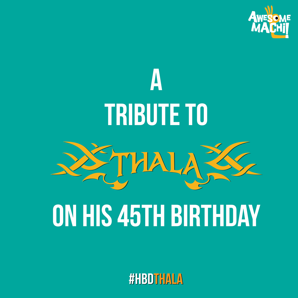 Thala Birthday Special Tribute Gallery
