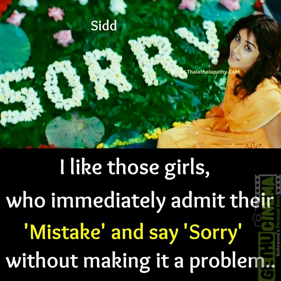Movie Quotes: Sorry Quotes In Tamil Related Keywords