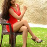 Poojitha-Stills-At-Bullet-Movie-Launch-08