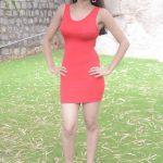 Poojitha-Stills-At-Bullet-Movie-Launch-25