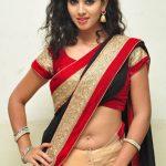 telugu_actress_pavani_black_red_saree_hot_stills_21372b6