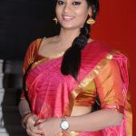 Actress Suja Varunee Hot saree Photos