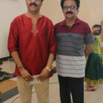 Crazy Mohan, Maadhu Balaji @ Vijay TV Anchor Ramya Wedding Photo