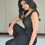 Acress Alekhya Hot Photo Gallery in Tight Jeans at Aa Aiduguru Movie Press Meet CelebsNext 0087