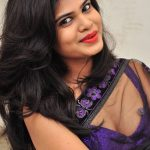 Alekhya-Latest-Hot-Photos-in-Transparent-Saree-1