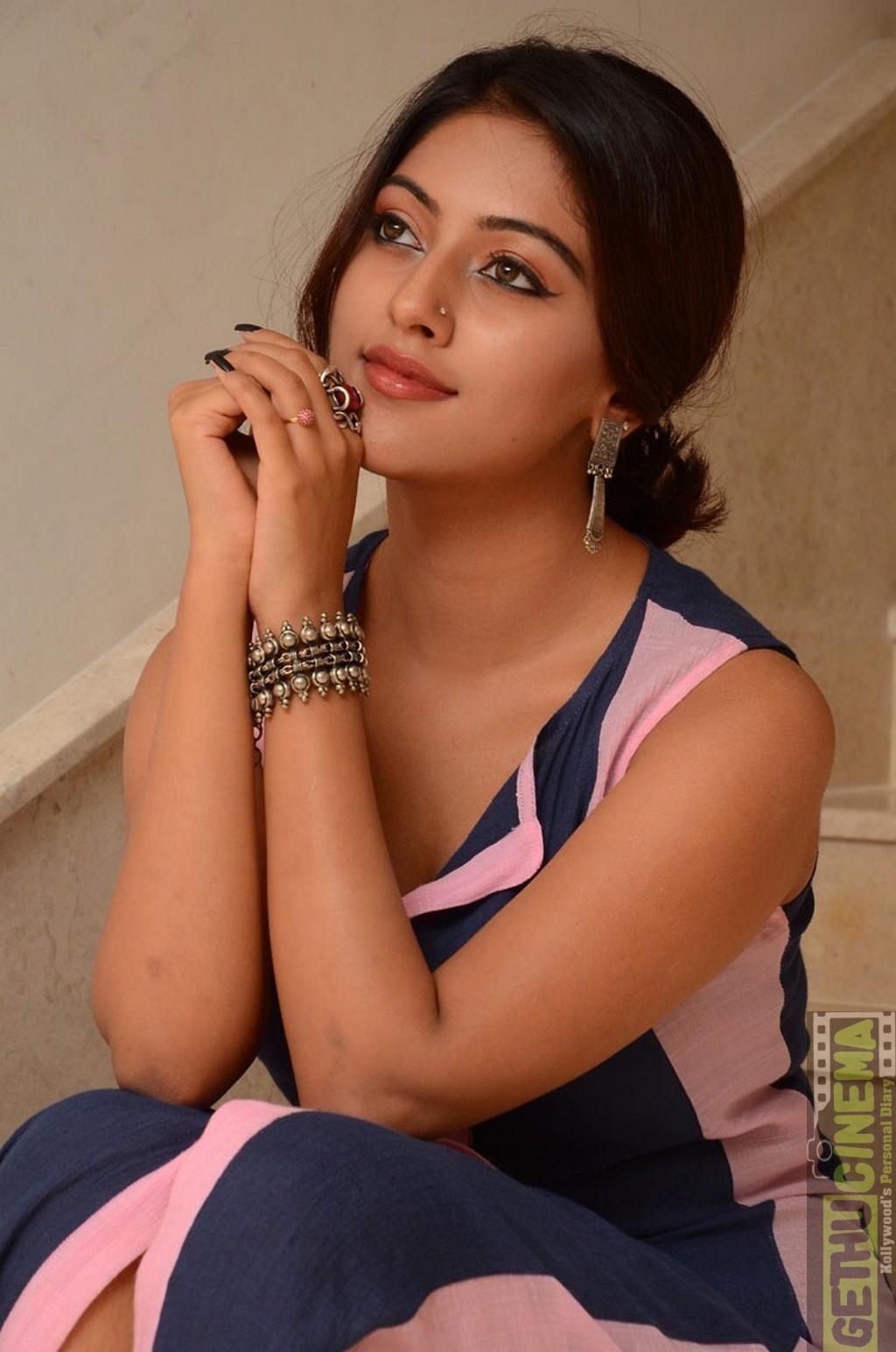 Angle Song Actress Anu Emmanuel Gallery Gethu Cinema