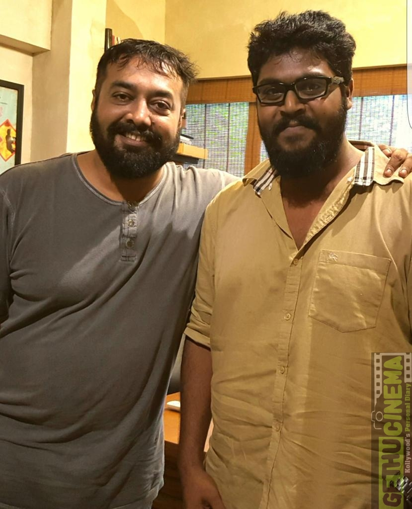 Anurag Kashyap and Ajay Gnanamuthu