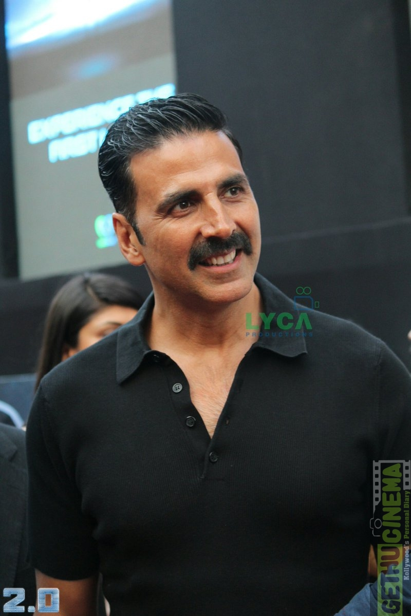 2.0 First Look Launch akshay kumar