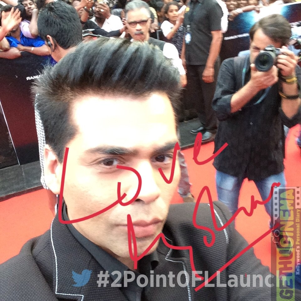 2.0 First Look Launch karan johar