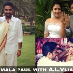Amala paul with her husband (1)
