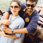 Amala paul with her husband (3)