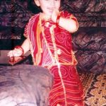 Hanshika Motwani childhood photos (5)