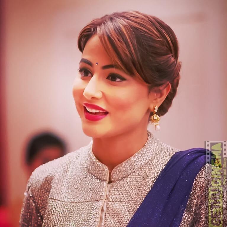 Serial Actress Hina Khan Gallery Gethu Cinema