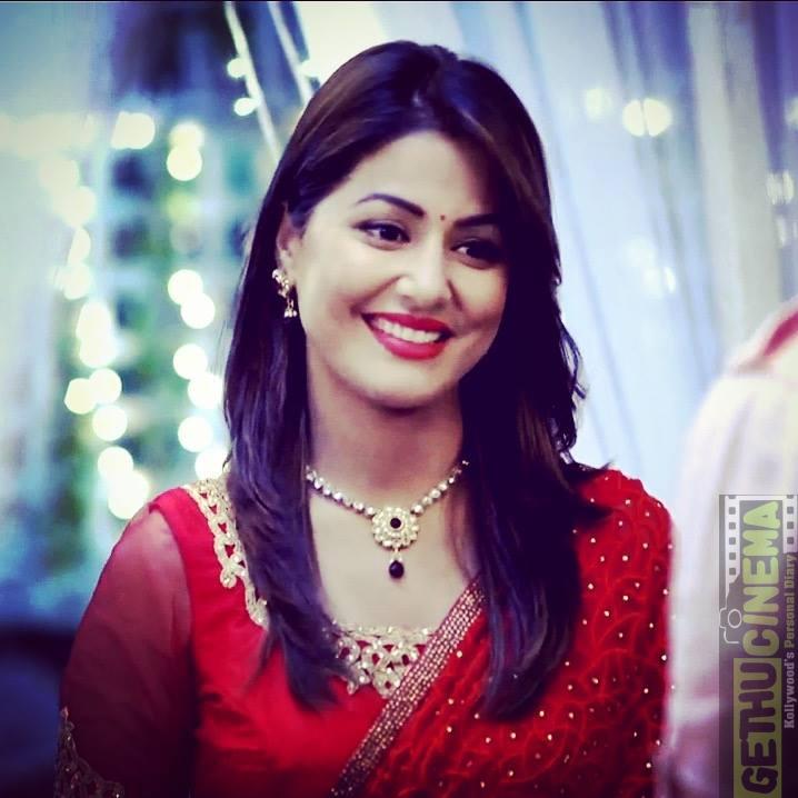 Actress Hina Khan Latest Gallery Gethu Cinema