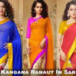 Kangana Ranaut In Saree (1)