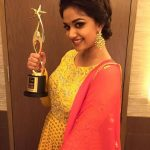 Keerthy Suresh Stills at SIIMA Awards 2016 (5)