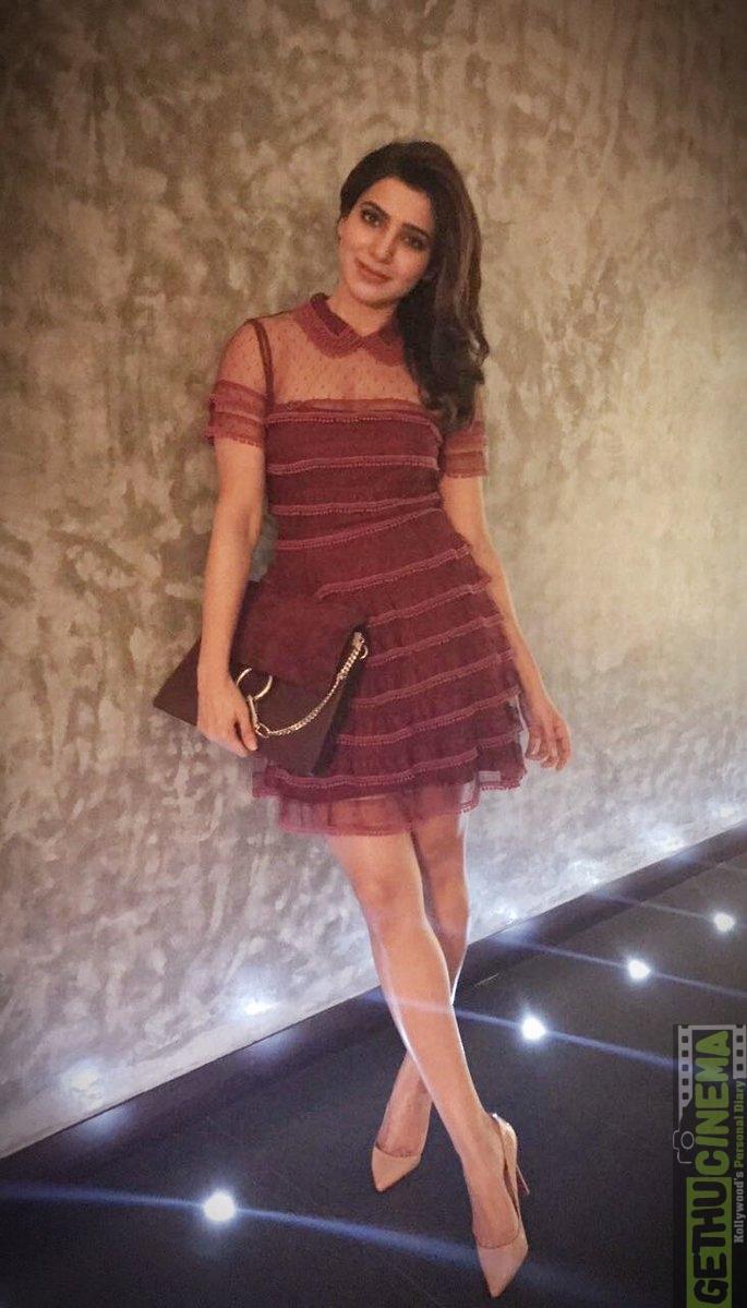 Actress Samantha Ruth Prabhu Latest Photos Event Gallery Gethu