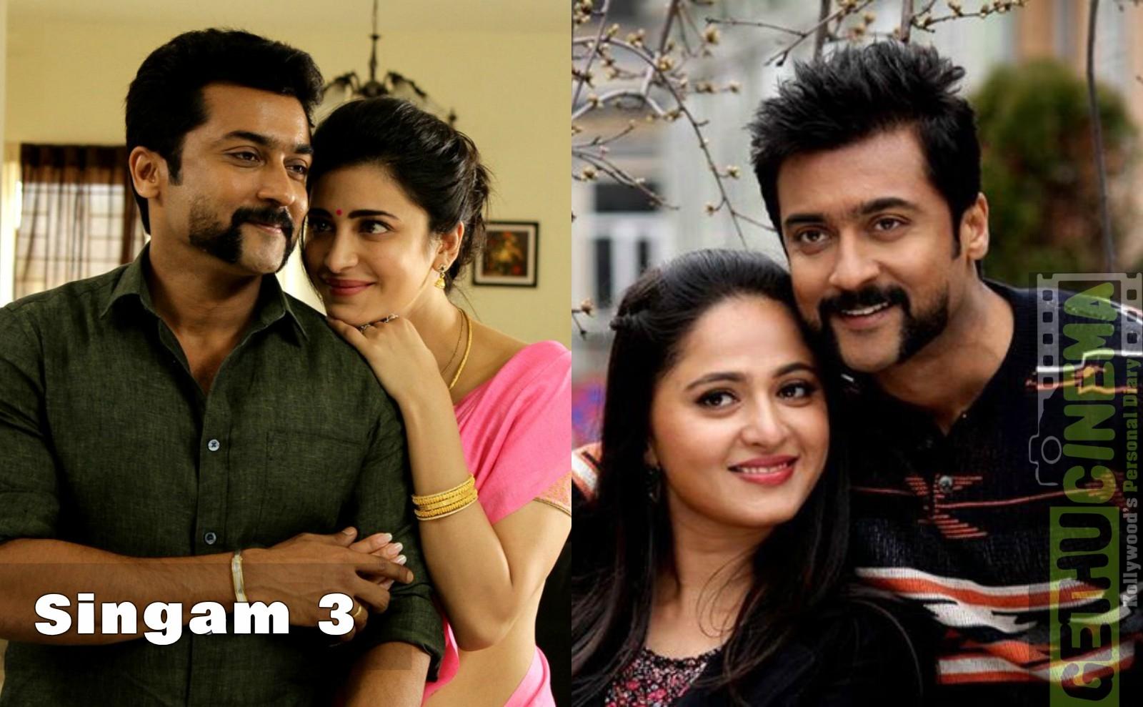 Singam 3 Movie Hd Gallery Suriya Shruti Haasan Anushka Shetty