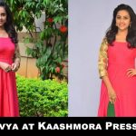 Sri Divya at Kaashmora Press Meet (1)