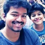 Unseen pic of vijay with his son sanjay (4)