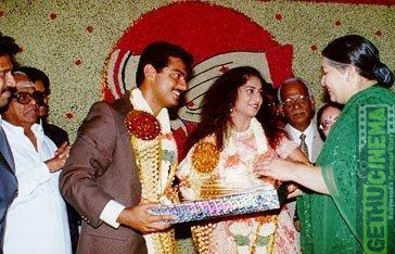 amma at ajith wedding