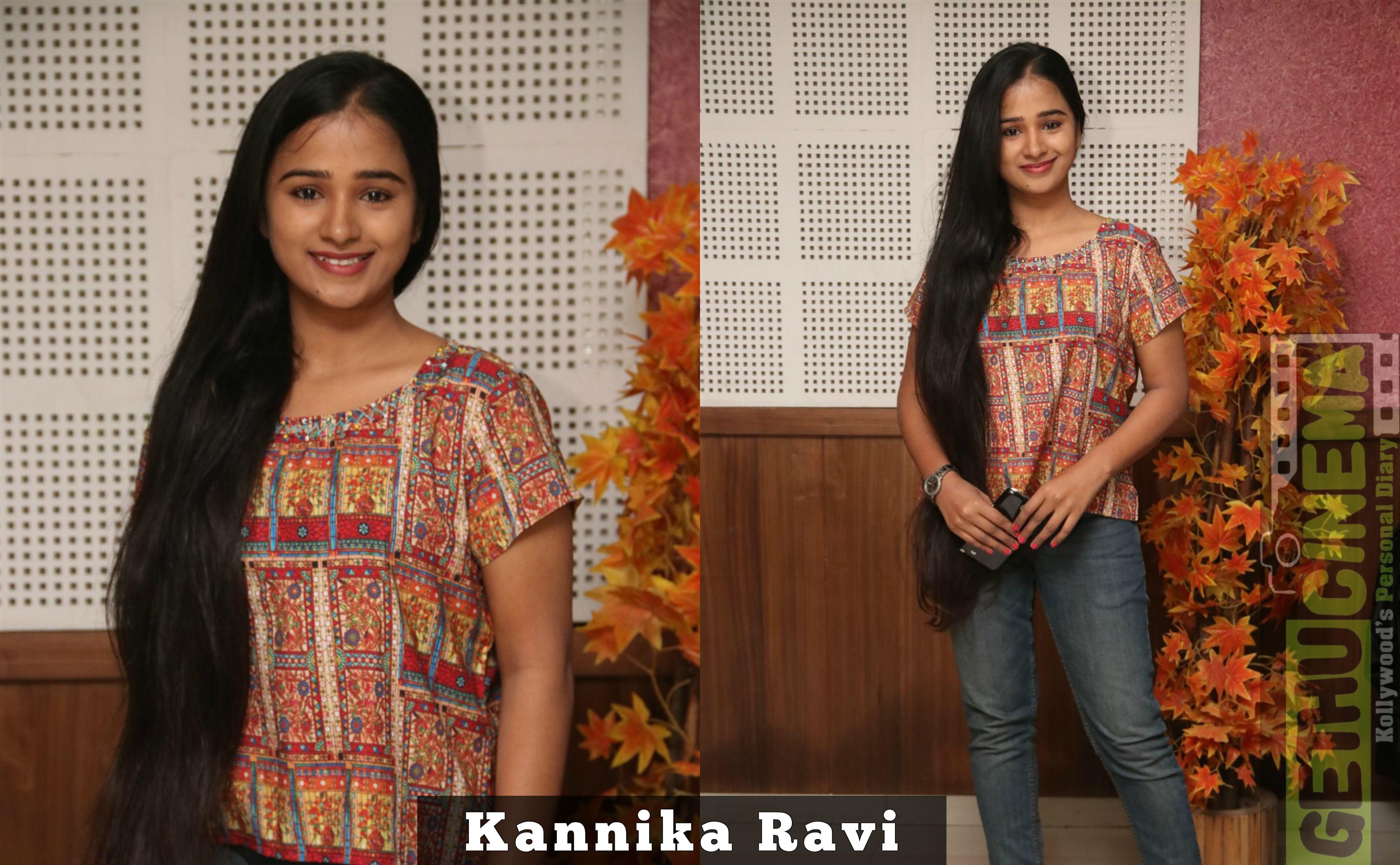 tamil cinema new actress kannika ravi latest gallery
