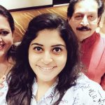 Manjima With Mom And dad