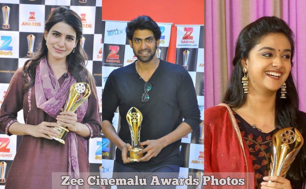 Zee Cinemalu Award Photos