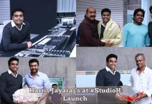 Harris Jayaraj's at StudioH Launch