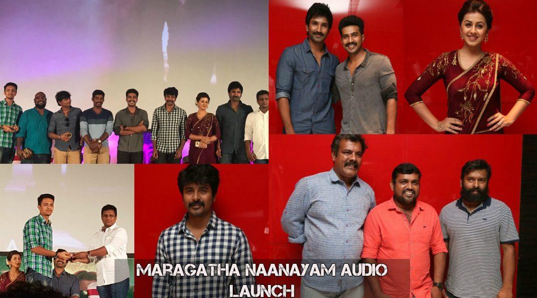 MaragathaNaanayamAudioLaunch