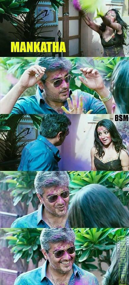 Holi celebration in tamil cinema 1