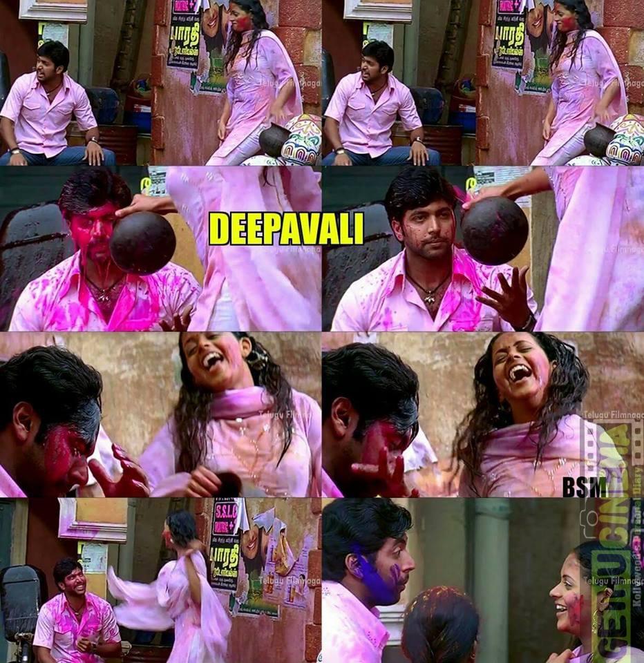Holi celebration in tamil cinema 4