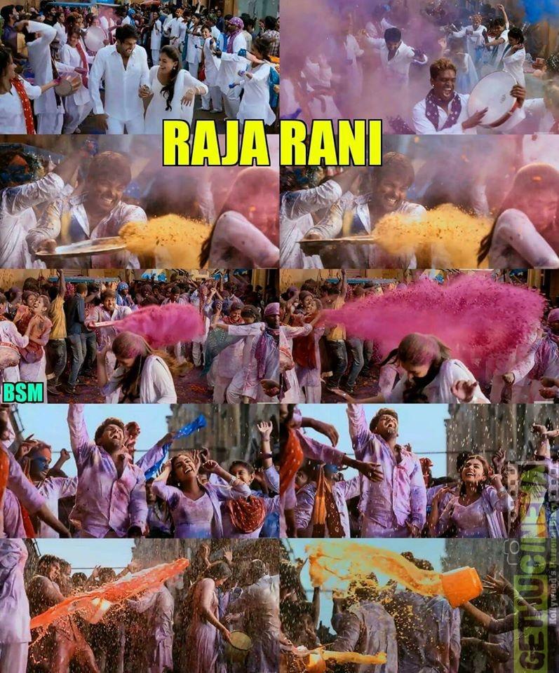 Holi celebration in tamil cinema 5