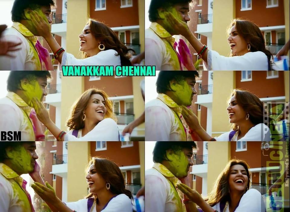 Holi celebration in tamil cinema 6