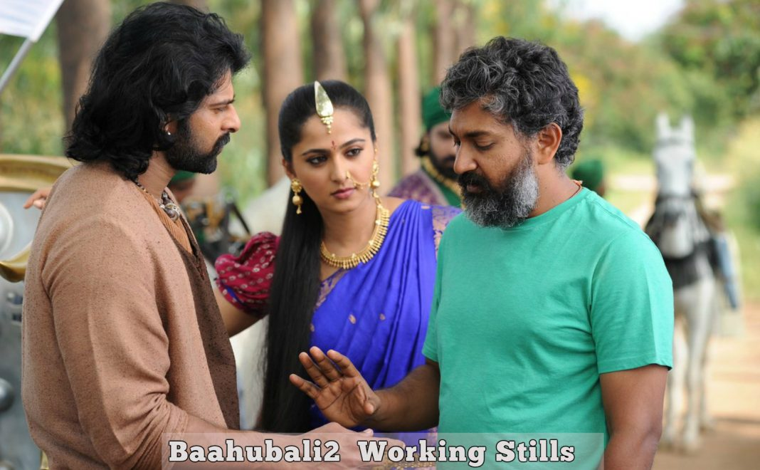 Baahubali2 working stills