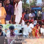 Nadigar Sangam New Building Foundation Laying Ceremony Photos