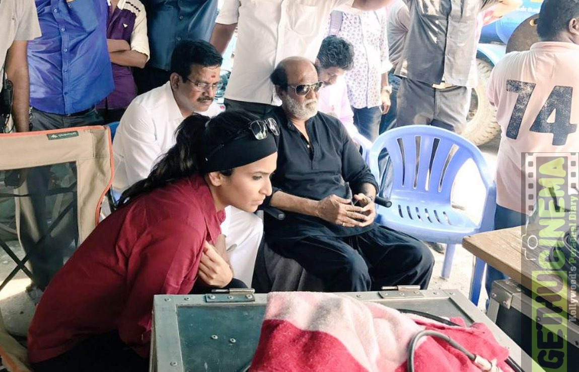 Shoot VIP 2 rajini