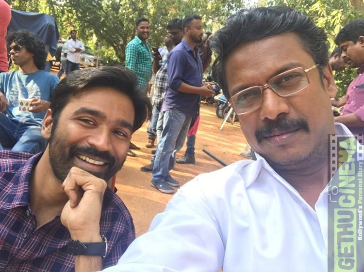 Dhanush and Samuthirakani in VIP 2 dhanush gethucinema