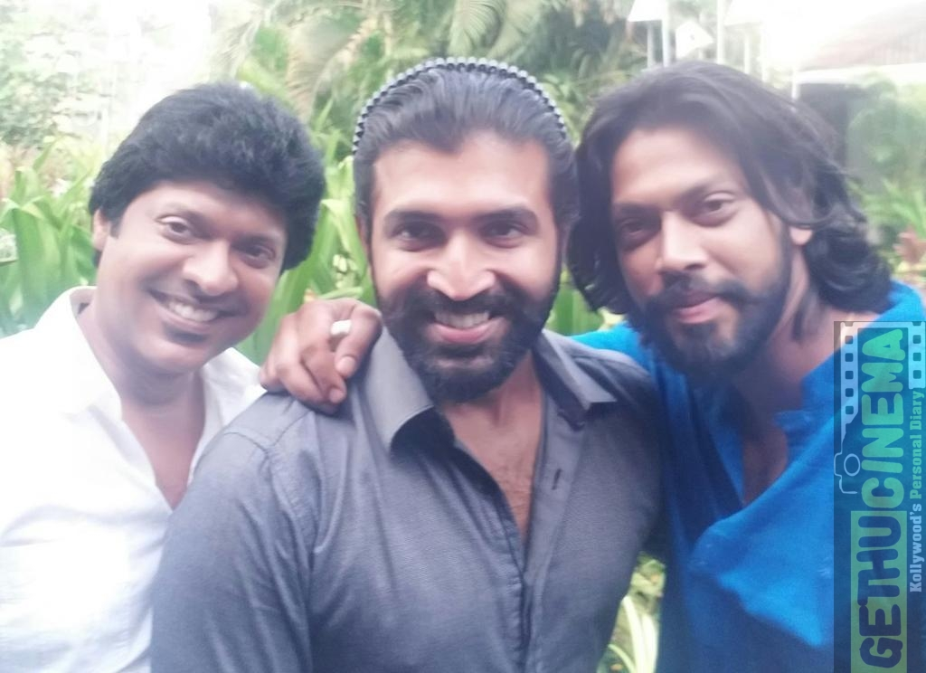 arun vijay and Maghizh Thirumeni