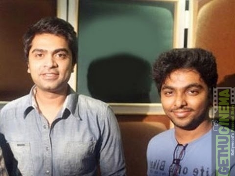 GV Prakash and STR
