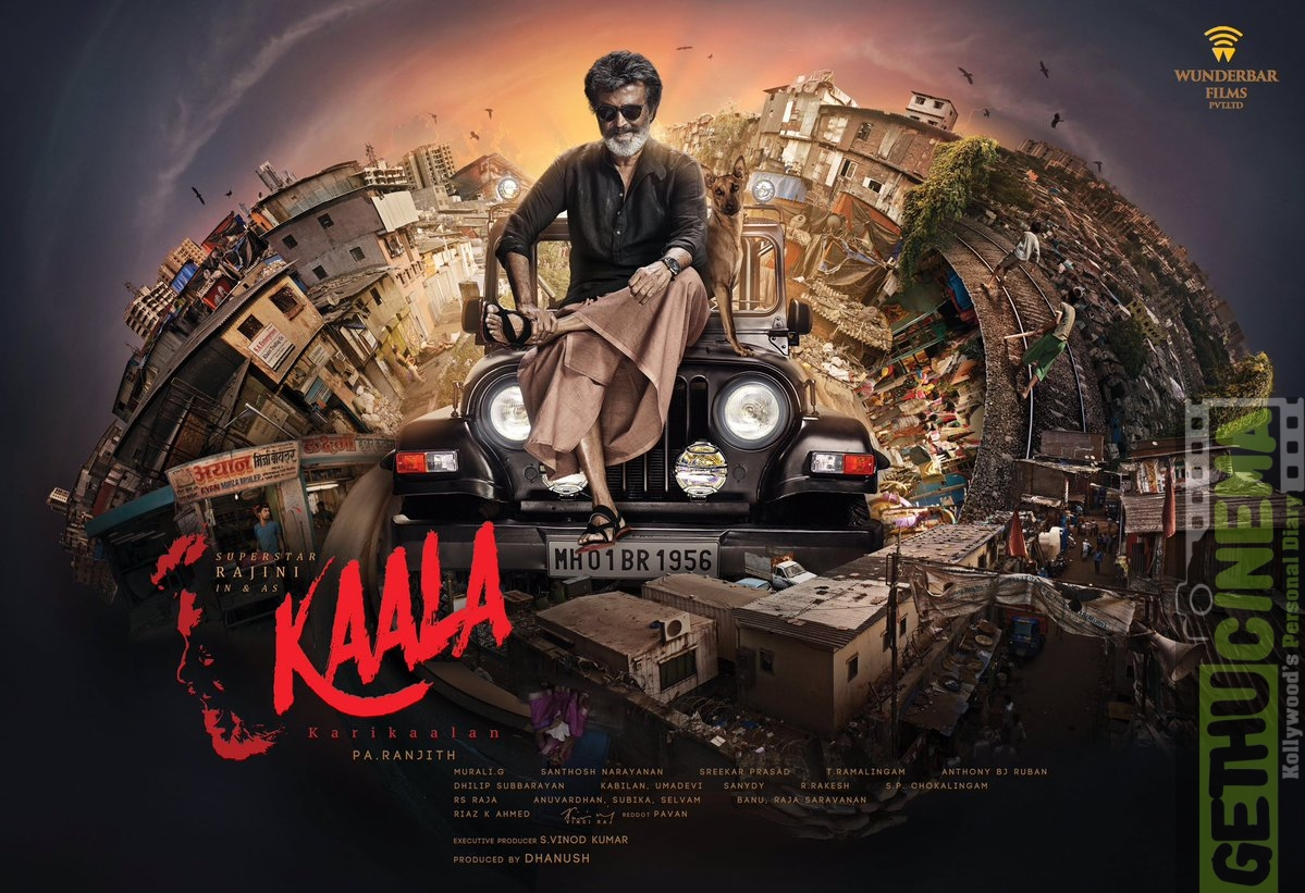 Kaala First look Rajinikanth (4)