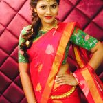 Shruti Reddy 2017 saree pics (3)