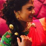 Shruti Reddy 2017 saree pics (4)