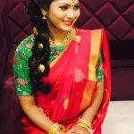 Shruti Reddy 2017 saree pics (5)