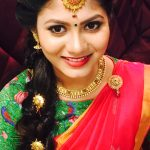 Shruti Reddy 2017 saree pics (7)