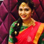 Shruti Reddy 2017 saree pics (9)