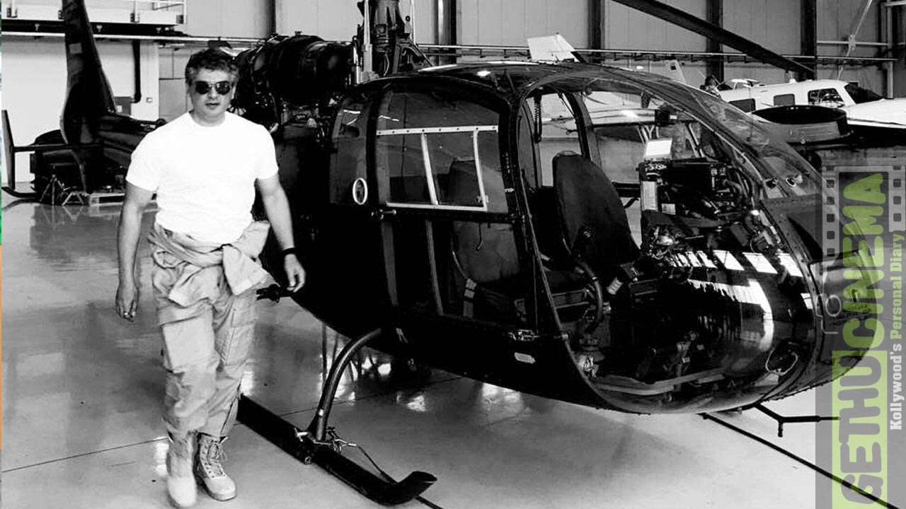 Vivegam ajith helicopter