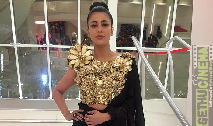 sangamithra at cannes rahman shruthi jayam ravi thenandal films kushbu sundar c sabu cyril (3)