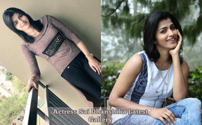 Sai Dhanshika Latest Photos Gallery
