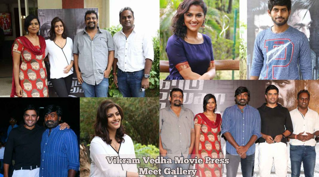 Vikram Vedha Movie Press meet Photos